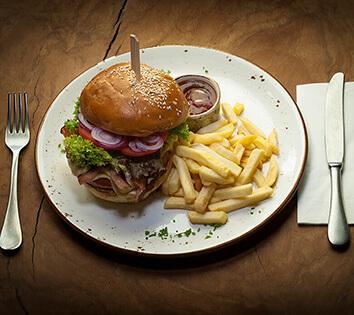 Slowenský burger